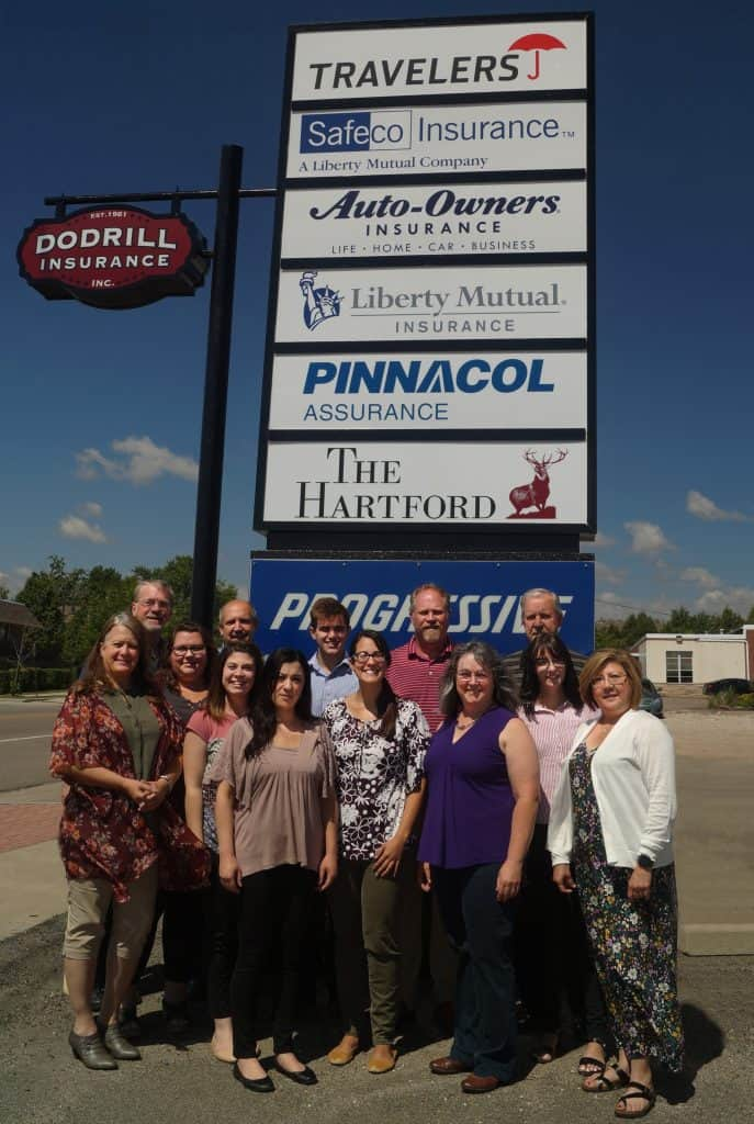 Dodrill Insurance staff out front of our Lakewood Colorado office